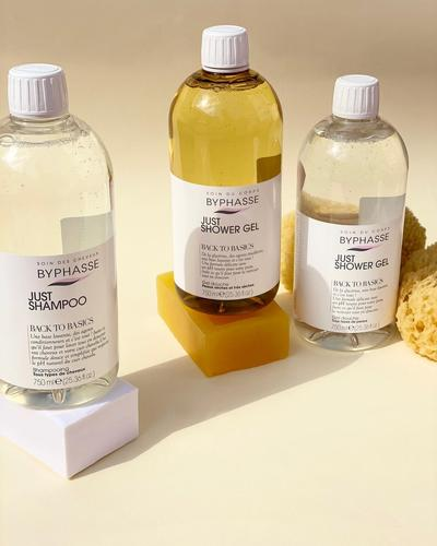 Byphasse Just Shower Gel Back To Basics All Skin Types фото 2