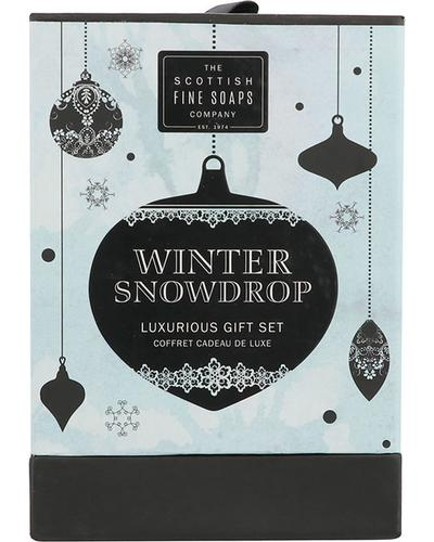 Scottish Fine Soaps Winter Snow Drop Luxurious Gift Set. Фото 1