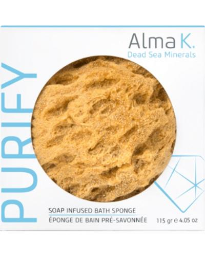 Alma K Губка-спонж натуральная пенящаяся Eco-friendly Foaming Sponge