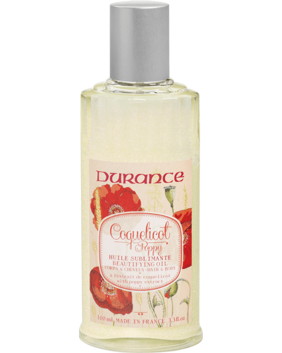 Durance Huile Sublimante Beautifying Oil with Poppy Extract