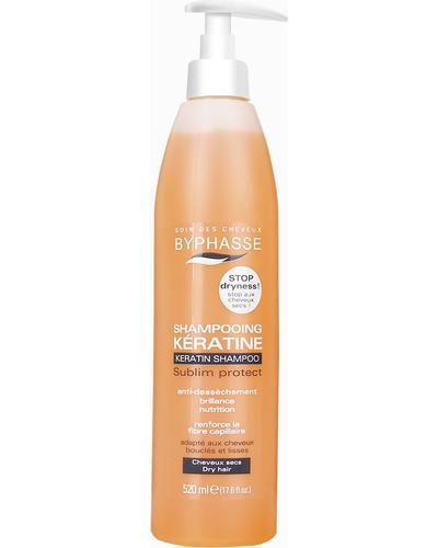 Byphasse Шампунь для сухого волосся Keratine Shampoo