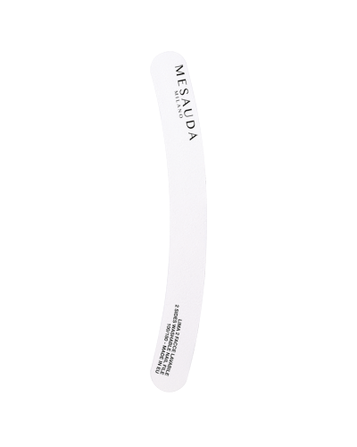 MESAUDA White Ergonomic Nail File