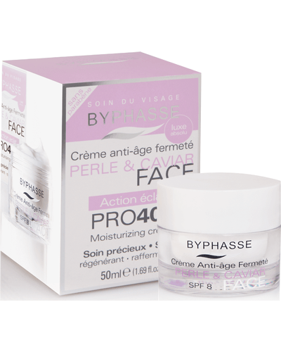 Byphasse Крем антивозрастной 40+ Anti-aging Cream Pro40 Years Pearl And Caviar. Фото 2