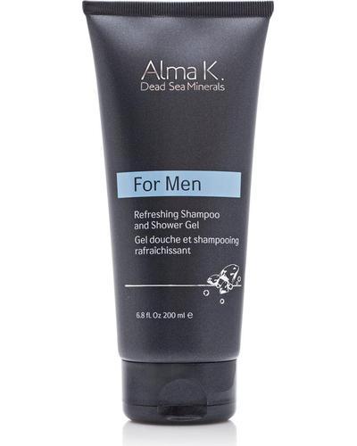 Alma K Шампунь для тела и волос освежающий For Men Refreshing Shampoo and Shower Gel
