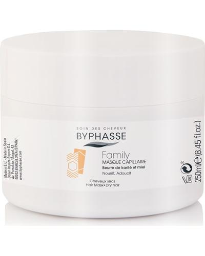 Byphasse Маска для волосся для всієї родини Family Hair Mask Shea Butter And Honey
