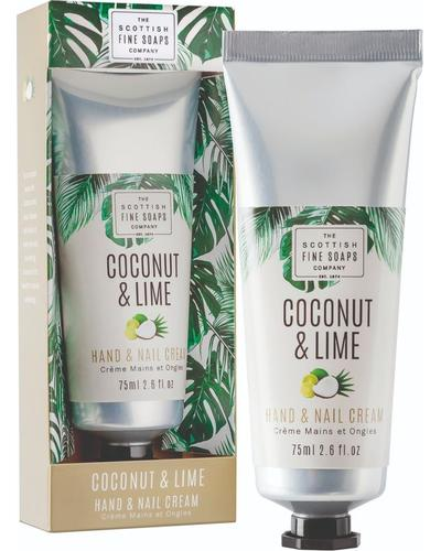 Scottish Fine Soaps Coconut&Lime Hand & Nail Cream