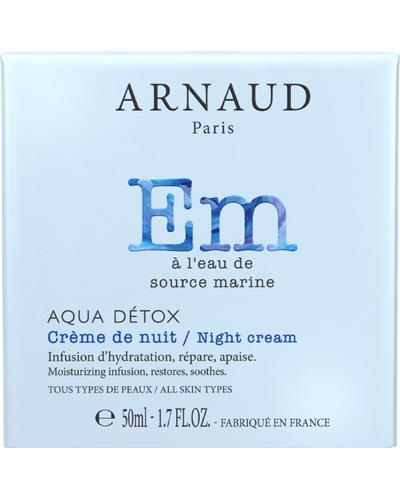 Arnaud Крем для обличчя нічний Aqua Detox Night Cream. Фото 4