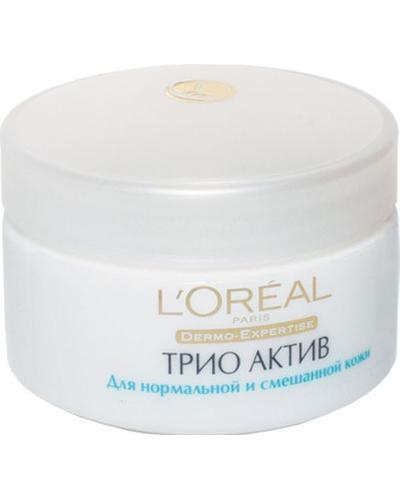 L'Oreal Крем Trio Active для нормальной и комбинированной кожи