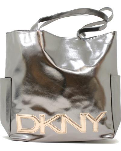 DKNY Сумка Ladies Silver Metallic