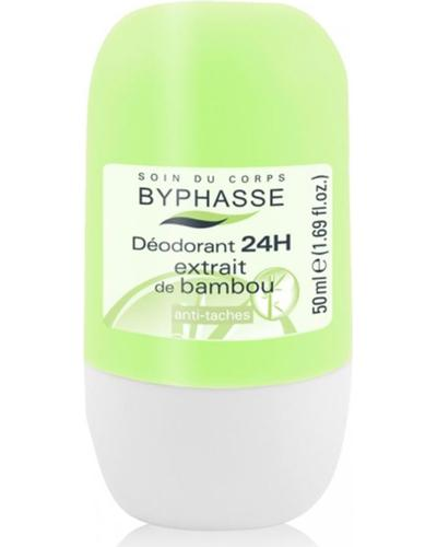 Byphasse Дезодорант роликовый 24h Deodorant Bamboo Extract