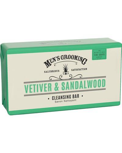 Scottish Fine Soaps Мыло Vetiver & Sandalwood Cleansing Body Bar