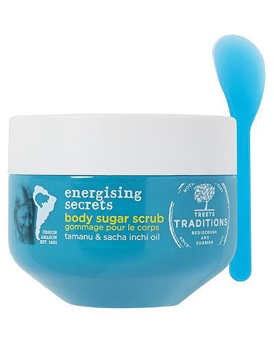Treets Traditions Energising Secrets Body Sugar Scrub. Фото 1