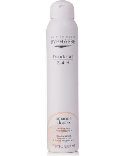 Byphasse Дезодорант антиперспірант Unisex 24h Anti-perspirant Deodorant Sweet Almond