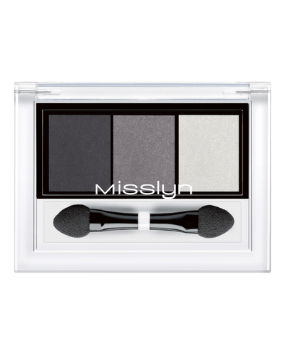 Misslyn High Shine Trio Eyeshadow
