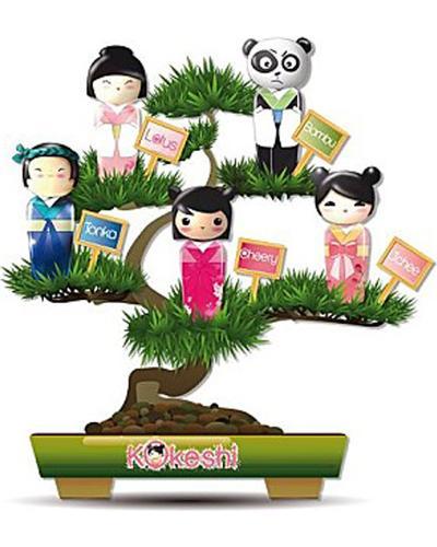 Kokeshi Bambu. Фото 5