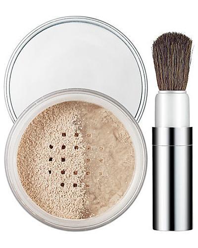Clinique Рассыпчатая пудра для лица с кисточкой Blended Powder and Brush. Фото 2