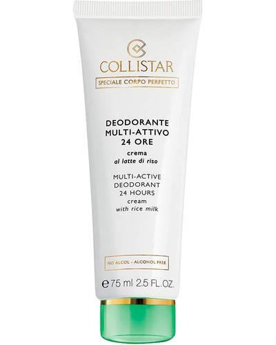 Collistar Кремовый дезодорант с рисовым молочком 24H Multi-Active Deodorant 24 Hours Cream with Rice Milk - alcohol free