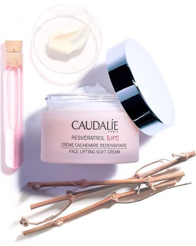 Caudalie Крем-кашемир с эффектом лифтинга Resveratrol [Lift] Face Lifting Soft Cream. Фото 3