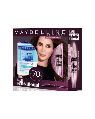 Maybelline Подарочный набор Lash Sensational