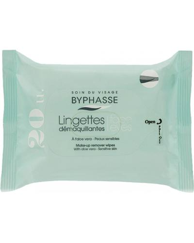 Byphasse Make-up Remover Wipes Aloe Vera Sensitive Skin главное фото