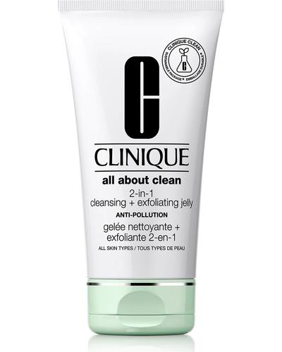Clinique Желе, що очищує та відлущує All About Clean 2-in-1 Cleansing + Exfoliating Jelly