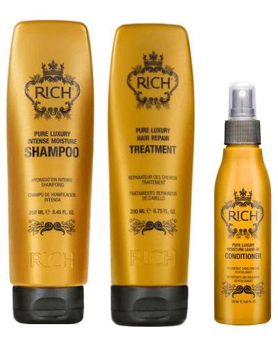 RICH Набор для волос - интенсивное увлажнение Pure Luxury Intense Set