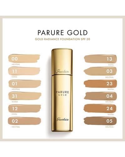 Guerlain Тональна основа-флюїд Parure Gold Radiance Foundation SPF30. Фото 3