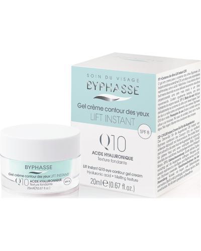 Byphasse Крем-гель проти зморшок для шкіри навколо очей Lift Instant Eyes Gel Cream Q10