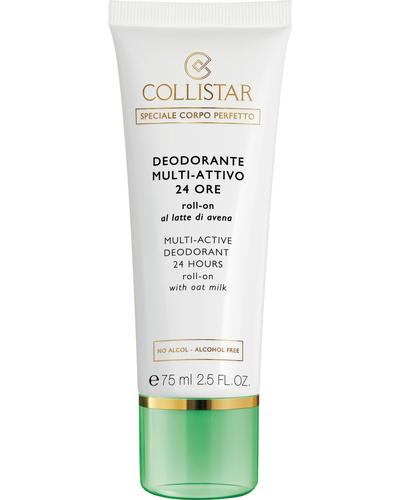Collistar Шариковый дезодорант с овсяным молочком 24H Multi-Active Deodorant 24 Hours Roll-On with Oat Milk - alcohol free. Фото 2