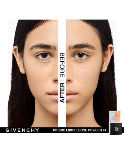 Givenchy Матирующая рассыпчатая пудра с эффектом сияния 4 в 1 Prisme Libre Loose Powder. Фото 4