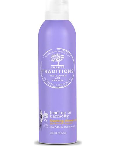 Treets Traditions Healing in Harmony Foaming Shower Gel