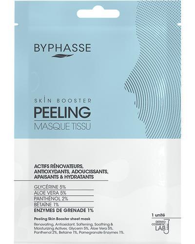 Byphasse Тканинна маска-пілінг Skin Booster Sheet Mask Peeling