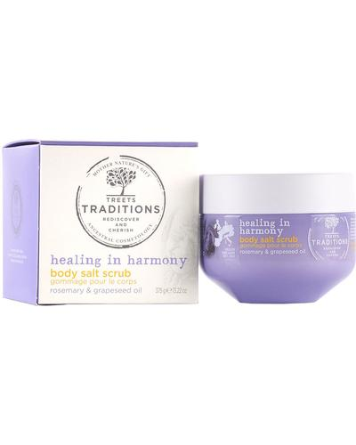 Treets Traditions Healing in Harmony Body Salt Scrub
