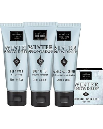 Scottish Fine Soaps Winter Snow Drop Luxurious Gift Set. Фото 2