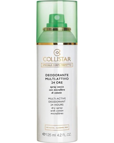 Collistar Дезодорант-спрей с волокнами хлопка Multi-Active Deodorant 24 Hours Dry spray