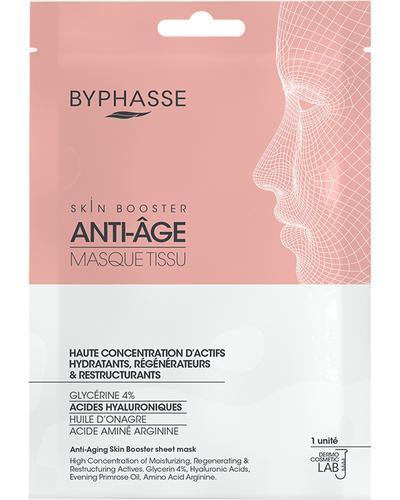 Byphasse Антивікова тканинна маска Anti-Aging Skin Booster Sheet Mask