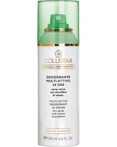 Collistar Multi-Active Deodorant 24 Hours Dry spray with cotton microfibres
