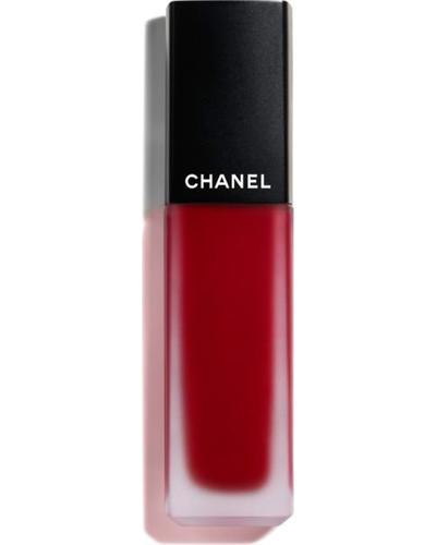 CHANEL Ультраматова стійка рідка помада з ефектом другої шкіри Rouge Allure Ink Fusion