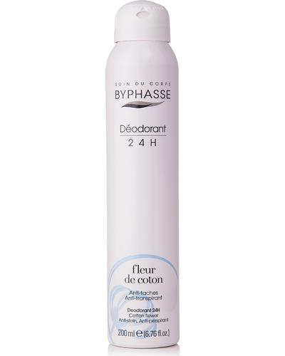 Byphasse Дезодорант антиперспірант Unisex 24h Anti-perspirant Deodorant Cotton Flower