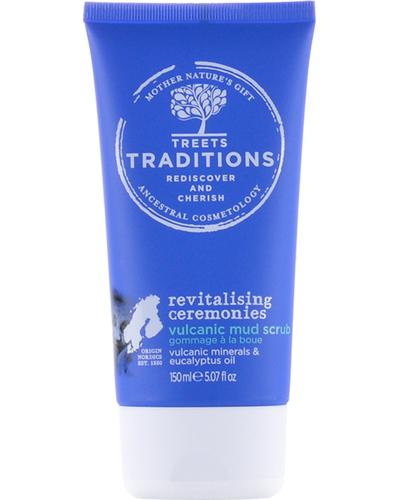 Treets Traditions Скраб с вулканической грязью Revitalising Ceremonies Volcanic Mud Scrub