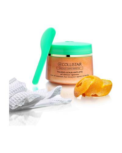 Collistar Соль-скраб для тела с антивозрастным эффектом Anti-Age Talasso Scrub. Фото 4