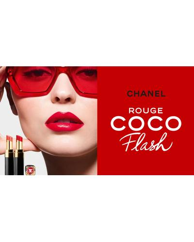 CHANEL Зволожуюча помада-блиск для губ Rouge Coco Flash. Фото 1