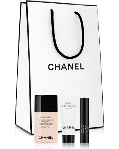 CHANEL Les Beiges Sheer Healthy Glow Set