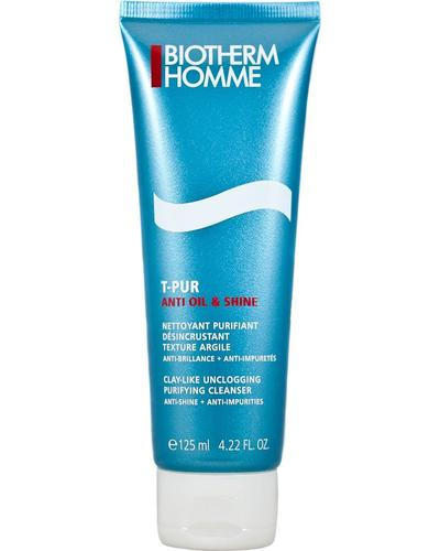 Biotherm Очищающий гель для лица Homme T-Pur Anti Oil & Wet Purifying Cleanser