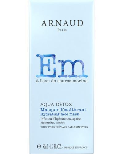 Arnaud Маска для лица увлажняющая Aqua Detox Hydrating Face Mask. Фото 4