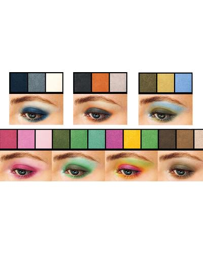 Shiseido Luminizing Satin Eye Color Trio. Фото 3