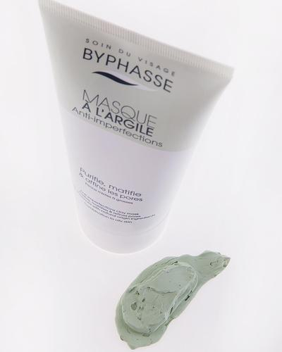 Byphasse Маска для лица Masque A L'Argile Anti-imperfections Clay Mask. Фото 6