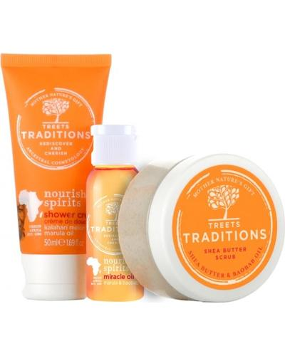 Treets Traditions Подарочный набор Nourishing Spirits Gift Set Small