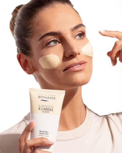 Byphasse Маска для обличчя Masque A L'Argile Nutritive Clay Mask. Фото 4