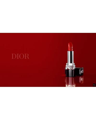 Dior Оттенки высокой моды: от глянцевых до матовых - комфорт и стойкость Rouge Dior. Фото 2